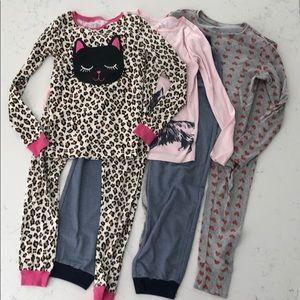 Gap Children's Place and Carter's Pajamas